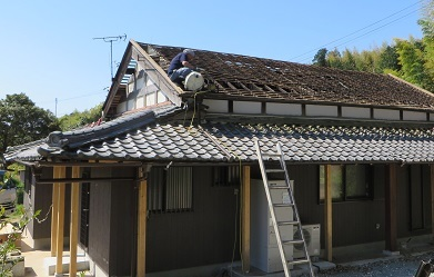 屋根工事・9