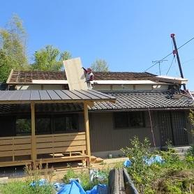 屋根工事・2の5