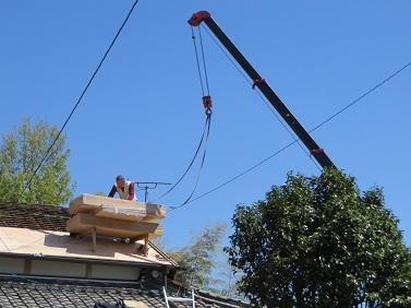 屋根工事・2の8