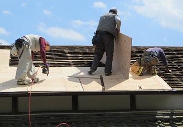 屋根工事・2の11
