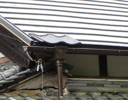 大屋根下拵え・3