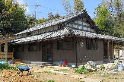 屋根完成・1