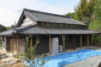 屋根完成・5