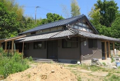 屋根完成・2