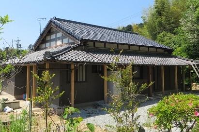 屋根完成・6