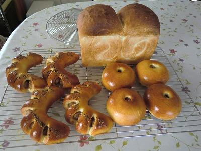 食パンも一緒