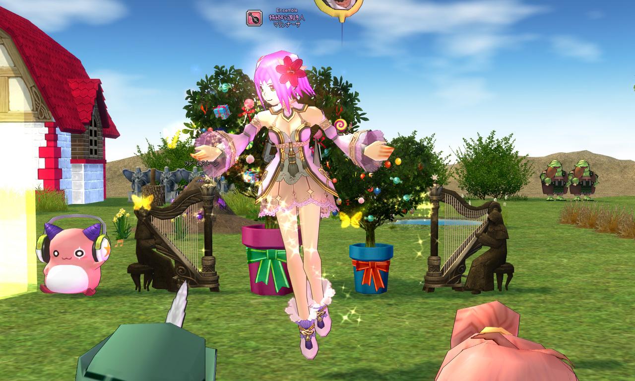 森の妖精衣装・ルエリのマリンナーサ2