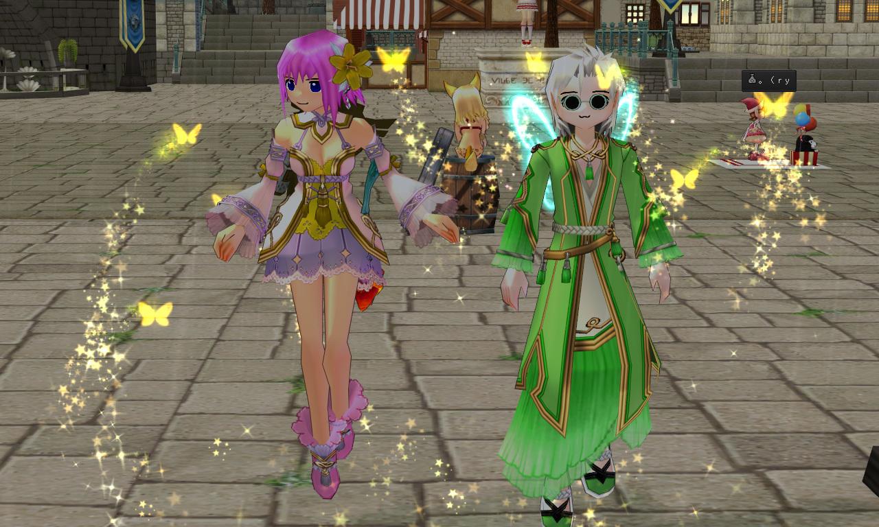 森の妖精衣装・マリーのマリンナーサ2