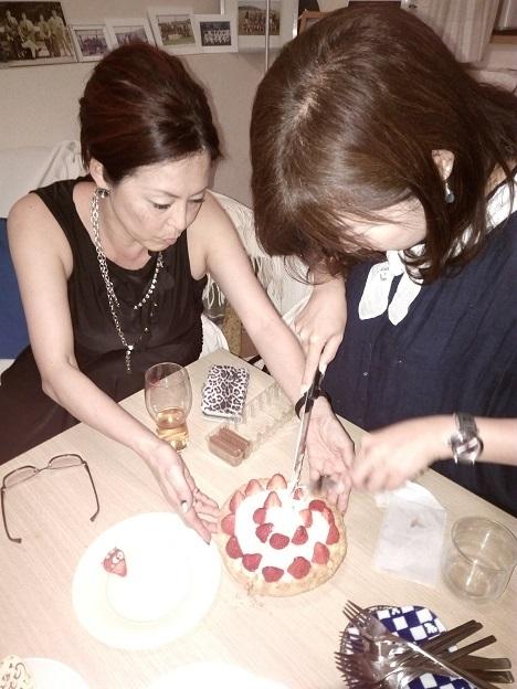 恵理ちゃんケーキ