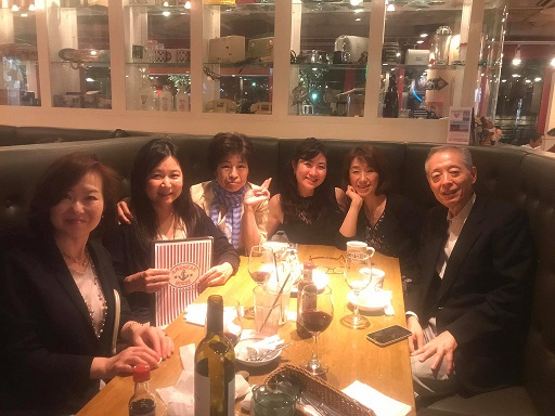 Bday dinner with Tamagawa friends