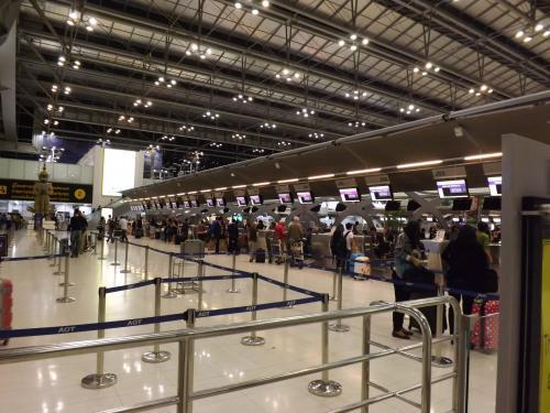 タイ国際航空 チェックインカウンター
