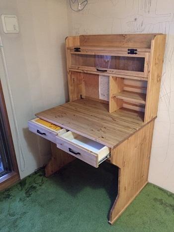 手作り学習机