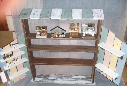 手作りイベント用飾り棚