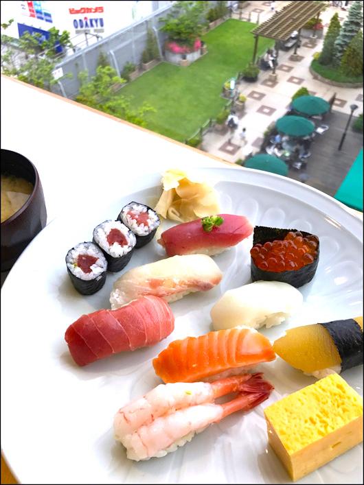 小田急 握り寿司