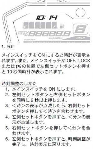 MT-07時計