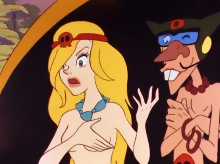 ヤッターマン1977 ドロンジョ様の胸裸ヌード25