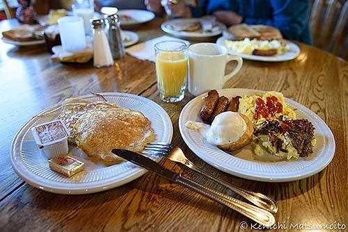 ベストウエスタンの朝食