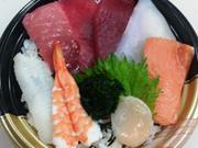 大間のマグロ入り海鮮丼