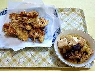 170505_4627 舞茸の天ぷら・白菜ときのこの煮物VGA