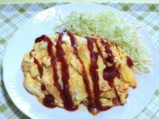 170509_4633 挽肉と玉葱のオムレツVGA