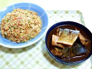 170516_4645 炒飯・サバの味噌煮VGA