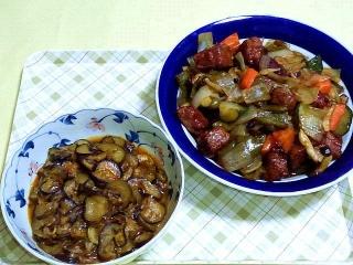 170602_4682 茄子の味噌炒め・酢豚VGA