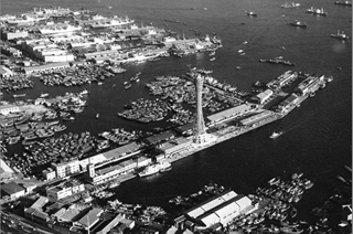 170609_1963年「神戸ポートタワー」開業当時の神戸港_640x424