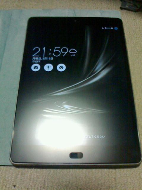 2017/05/15 ASUS ZenPad 3S 10 LTE Z500KL-BK32S4