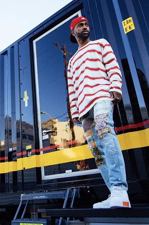 ビッグ・ショーン(Big Sean):ステラマッカートニー(Stella McCartney)/プーマ(Puma)×デイリーペーパー(Daily Paper)
