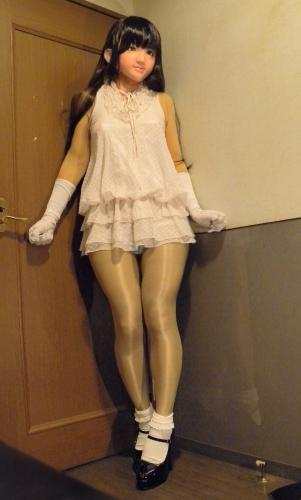 白ワンピ11