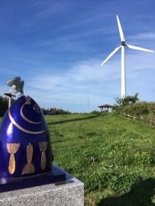 マグロと風車20170507