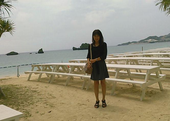 某ホテルプライベートビーチ