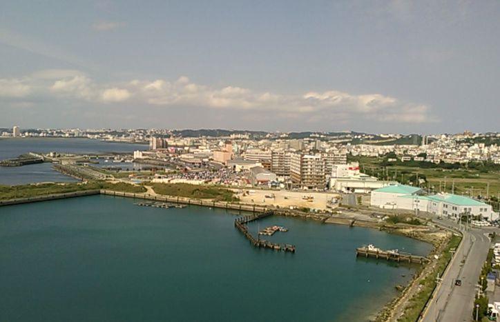 部屋からの景色(宜野湾)
