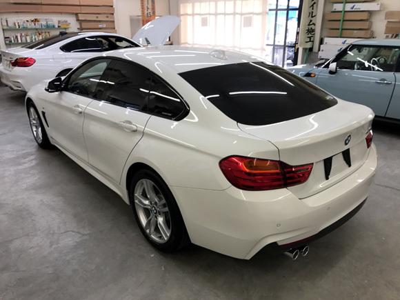 BMW 4シリーズ グランクーペ (DBA-4D20) @SP