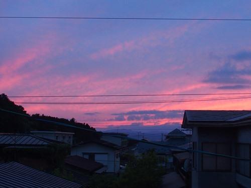 夕焼けー2