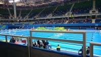 リオオリンピックのプール