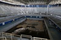 リオオリンピックプール閉会後