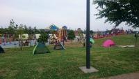 厚木基地のとなりの公園