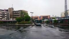 市が尾駅バスターミナル1