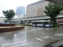 川崎駅西口バス乗り場