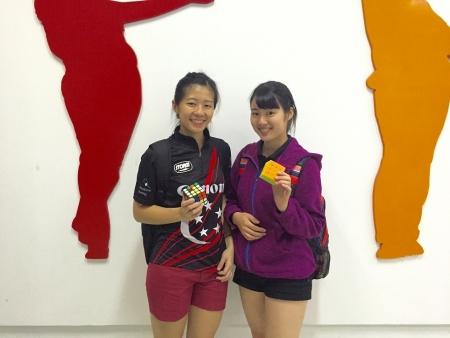 Bernice Limさんと上海で