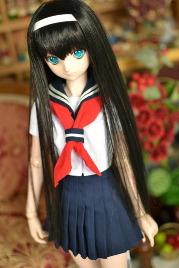 DDSレン-黒髪ロングー1