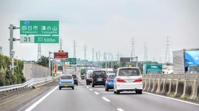 高速道路走行画像