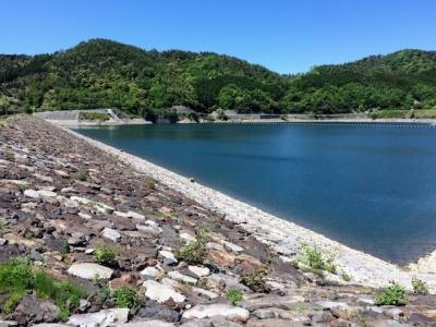 滋賀県の蔵王ダムを目指してツーリング♪