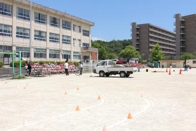 交通安全講習/内部東小学校