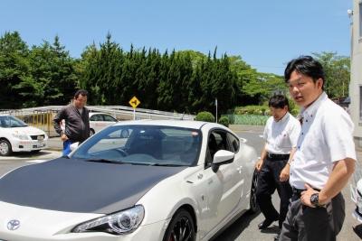 三重トヨタ自動車 AREA 86 さま試乗会