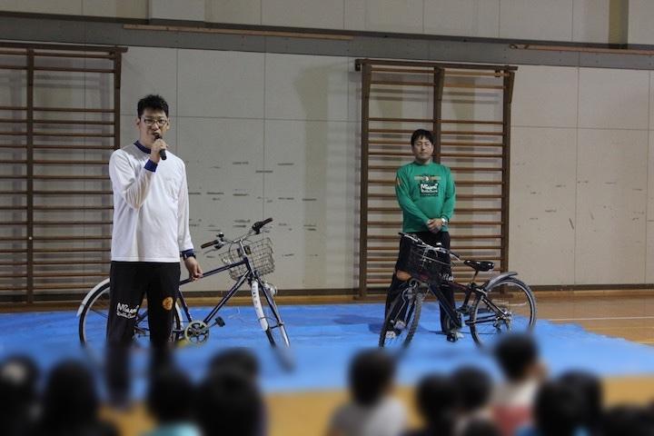 交通安全講習/河原田小学校