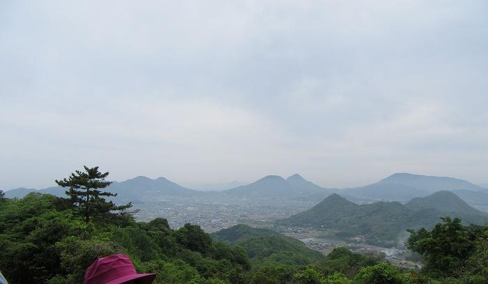 志保山登りの休憩場所から 29.5.3