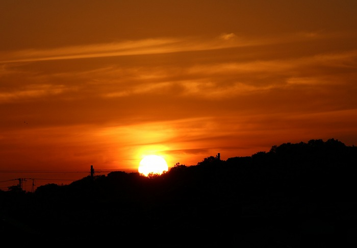 もう沈む夕日 29.5.13