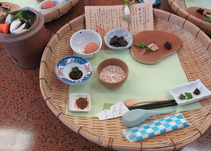 6月4日 朝食 高千穂峡 四季見 29.6.4